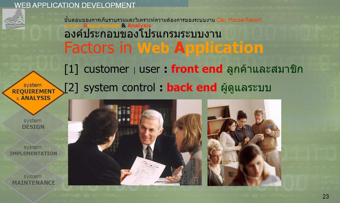 [1] customer | user : front end ลูกค้าและสมาชิก